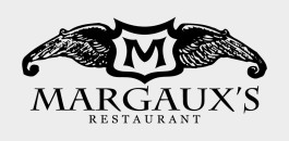 Margaux white logo 265x130 Order Up! Margauxs Restaurant Launches New Site