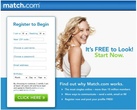 Dating site marketing strategy