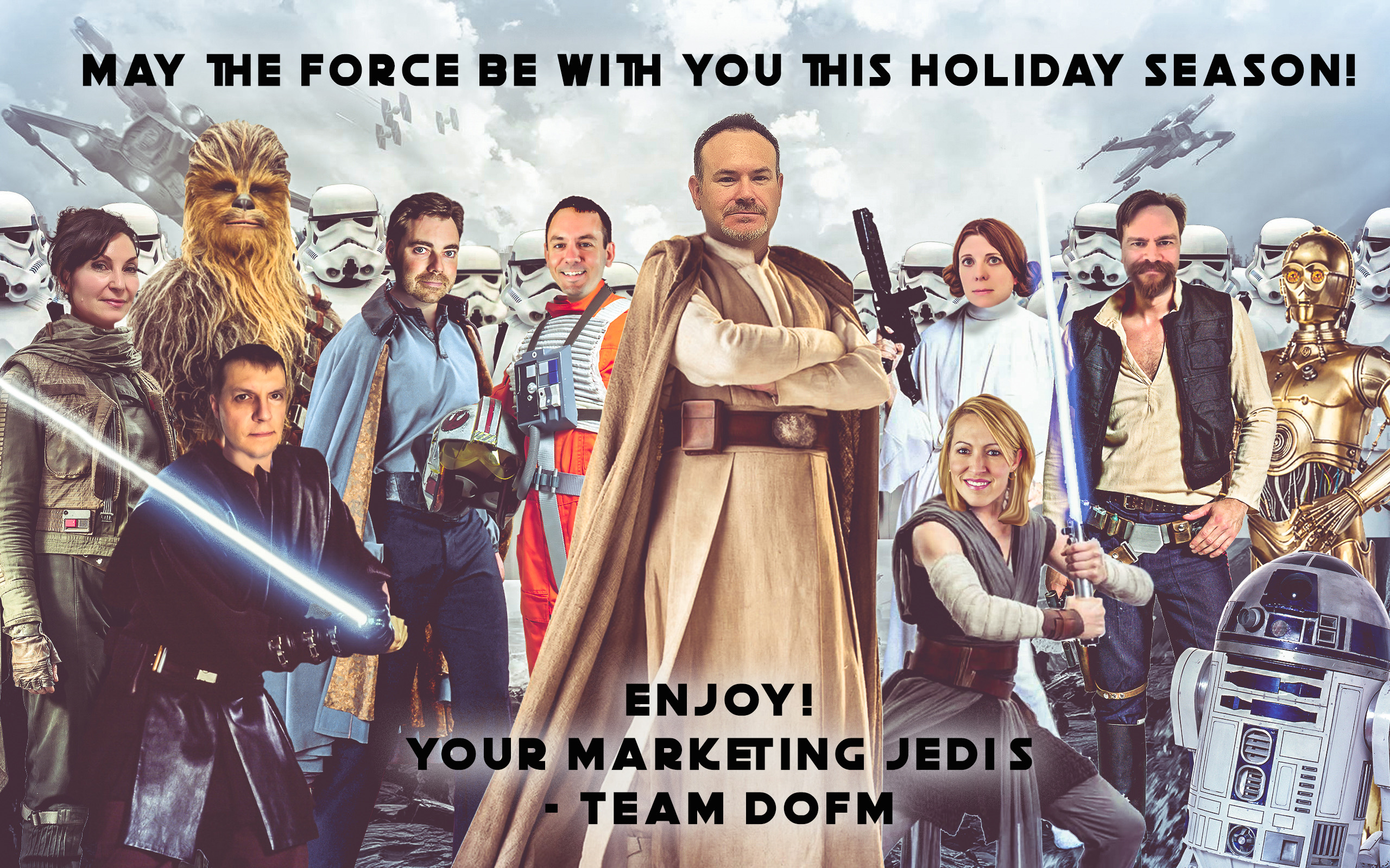 Happy Holidays from The Department of Marketing - DofM