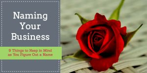 naming your business rose